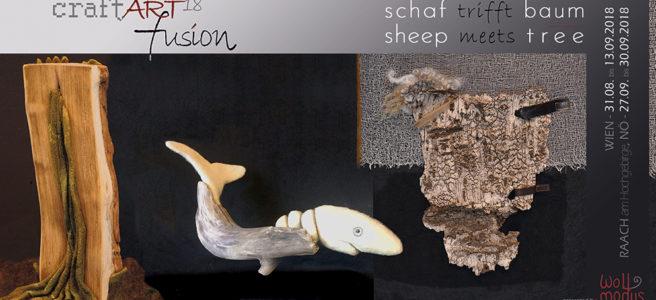 Einladung Ausstellung Schaf trifft Baum